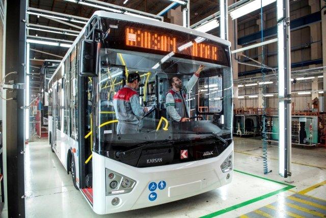 Türk otomotiv şirketi Karsan, 20 Nisan'da üretime tekrar başlayacak