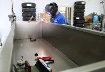 Sivas'ta üretim yapan firma koronavirüsten ölenler için 16 ülkeye antibakteriyel tabut ihraç ediyor